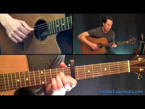 Let Her Go Guitar Lesson Pt.1 - Passenger - Intro & Intro Chorus