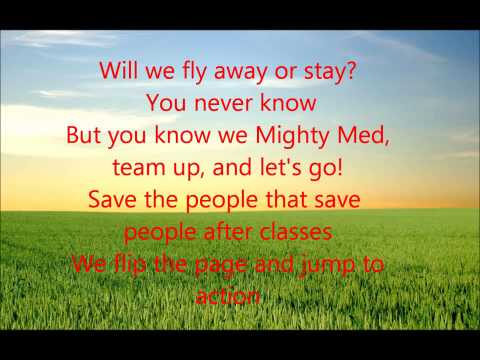 Mighty Med Theme Song Lyrics