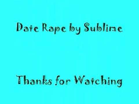 Date rape lyrics in Melbourne