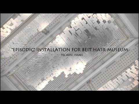 CG EPISODIC INSTALLATION FOR BEIT HA'IR MUSEUM, TEL AVIV, ISRAEL