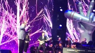 Шоу Голос в Кремле Юбилейный концерт март 2017. Лепс, Панайотов, Артур Васильеви Сандор Милано.