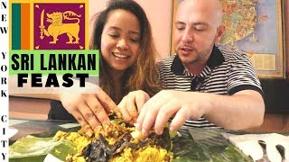 SRI LANKAN Food in NYC | Little Sri Lanka New York Food Tour