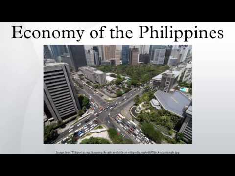 economy of the philippines Dubai: the philippine economy grew by 68 percent in the first quarter, on par  with expectations but short of the government's growth target of.