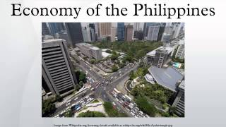 Economy of the Philippines