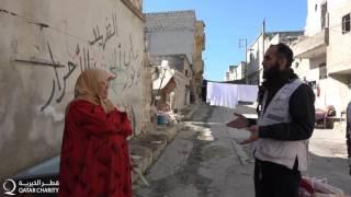 قطر الخيرية توزيع مساعدات الشتاء ضمن حملة شتاء لا ينتهي في سوريا