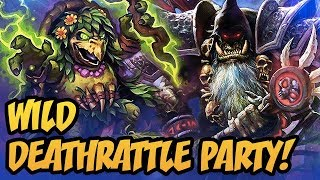 Wild Deathrattle Party! | Wild Cubelock 2018 | The Boomsday Project | Hearthstone