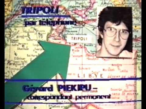 Gérard Piékipu, envoyé spécial de Radio Craignos à Tripoli - parodie info
