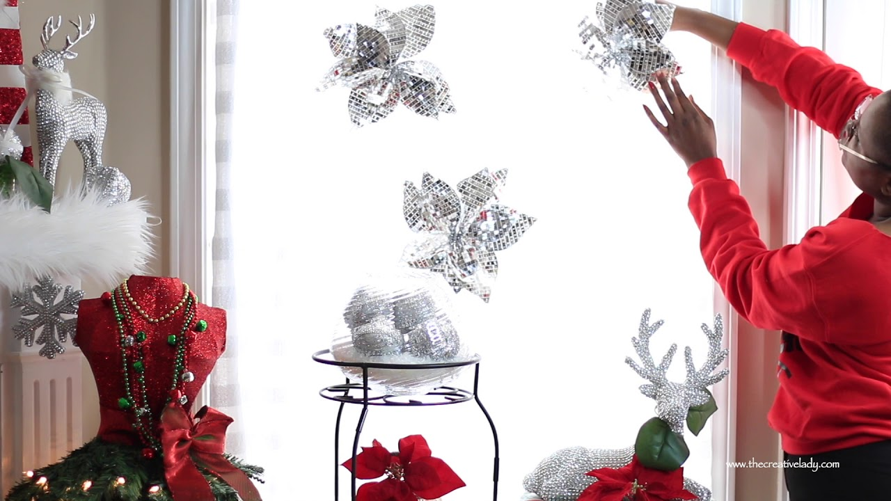 Diy christmas curtains from a big lots tablecloth 12 for 12 days of christmas table cloth