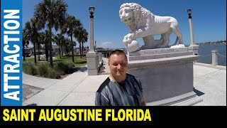 Saint Augustine downtown the oldest USA city founded in 1565 by Spanish explorers   Jarek in Florida