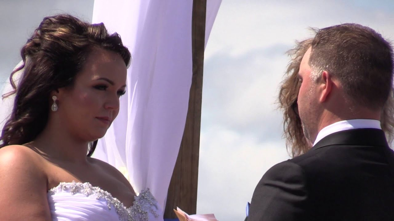 Paul And Kelsey's Beautiful Outdoor Wedding Ceremony