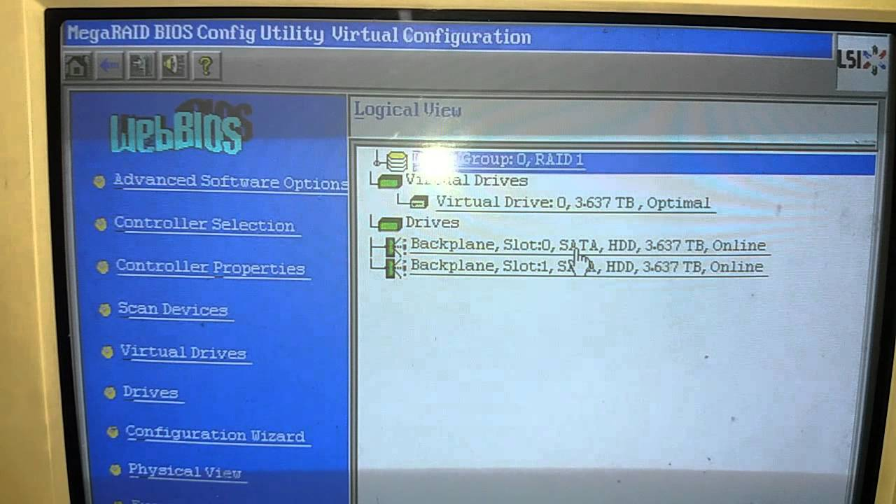 hardisk can't detected on blade server and solved using web bios (  supermicro server case )