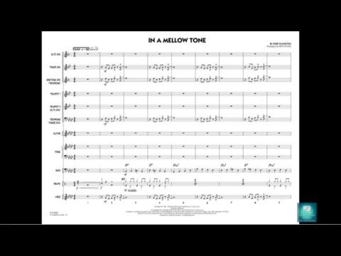 In a Mellow Tone by Duke Ellington/arr  Rick Stitzel