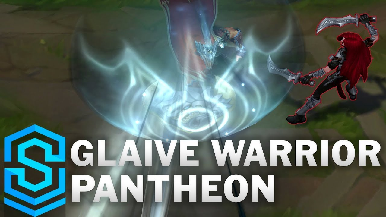Glaive Warrior Pantheon 2019 Skin Spotlight - League of Legends