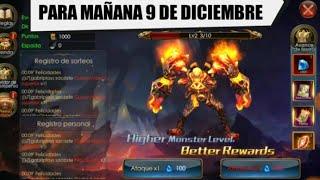 SUPER CONSUMIR, VENTA DE ALAS y CAZADOR PARA MANANA 9 DE DICIEMBRE - Legacy of Discord