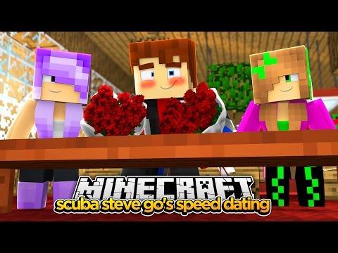 Minecraft - SCUBA STEVE GOES SPEED DATING
