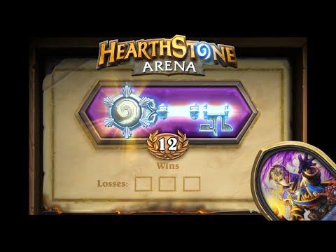 Hearthstone Arena - 12-0 Win /w Priest! The Dream!