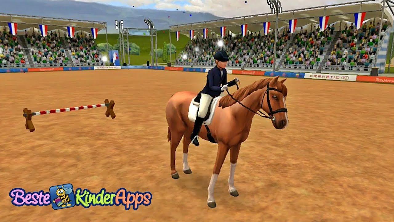 Horse World SPRINGREITEN Pferde Reitspiel Beste Kinder
