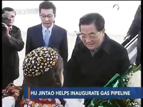 China, Turkmenistan, Kazakhstan, Uzbekistan inaugurate gas pipeline - CCTV 091214