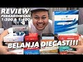 Ngubek2 DIECAST Pesawat + Review 1:200 vs 1:400 Garuda Indonesia MAX 8! (Feat. Kenny Hendrian)