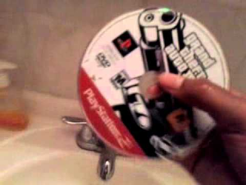 How to clean dvd or game cd with toothpaste WORK'S