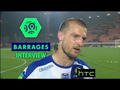 Interview de fin de match : FC Lorient – ESTAC Troyes (0-0) / Barrage retour Ligue 1  (2016-17)