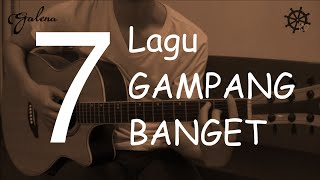Video 7 Lagu GAMPANG BANGET Belajar Gitar download MP3, 3GP, MP4, WEBM, AVI, FLV Mei 2018