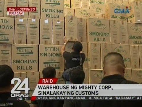 24 Oras: Warehouse ng Mighty Corp., sinalakay ng customs