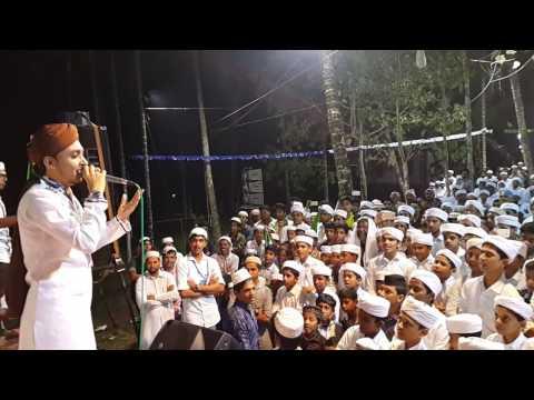 മുഹമ്മദ് നബീൽ ബാംഗ്ലൂർ മലയാളം നാത് പാടുന്നു | muhammed nabeel banglore singing malayalam song 2017