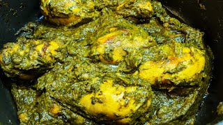 Palak Chicken Recipe  Saag Chicken  Chicken with Spinach  Murg Saagwala  Recipe by Mother&#39s Own