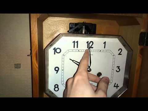 """Часы """"Янтарь"""" с боем, 1969"""