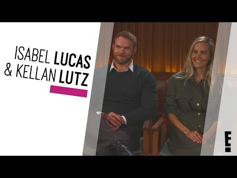 Kellan Lutz and Isabel Lucas  The Hype  E!