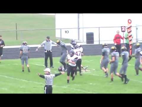 Justin Williams Freshman and Sophomore Football Highlights (Riley High school)