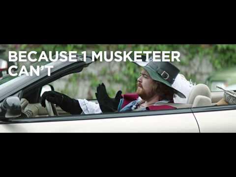 """Mars """"3 Musketeers - Carpool"""""""