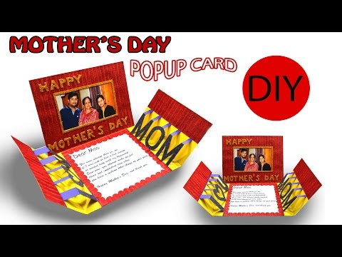 DIY | POPUP CARD | Mother's day Special | Art with Creativity 198