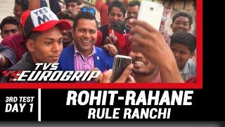 ROHIT-RAHANE rule Ranchi   'TVS Eurogrip' presents #AakashVani   Cricket Analysis