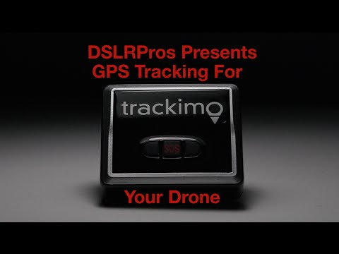 DSLRPros Presents Trackimo - GPS Tracking For Your Drone