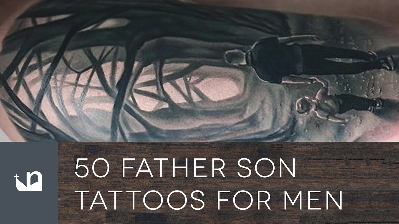 50 father son tattoos for men youtube biocorpaavc Image collections