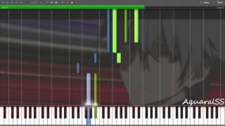 [Synthesia] Evangelion 3.0 - Sakura Nagashi -Paul.C Arr.- (Piano Tutorial + DPS)