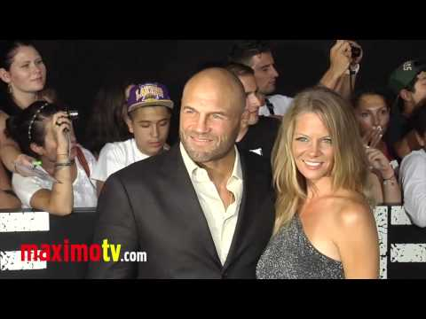 "Randy Couture at ""The Expendables 2"" Los Angeles Premiere ARRIVALS"