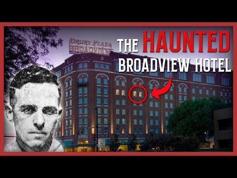 HAUNTED BROADVIEW HOTEL WICHITA KS