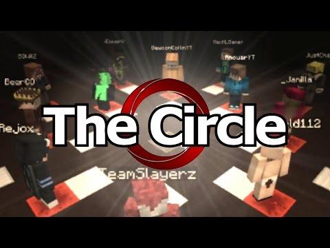 The CIRCLE - YOUTUBERS vs KIJKERS! Minecraft MINI-GAME!