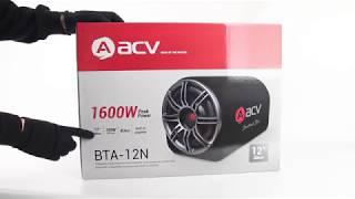 Обзор автомобильного сабвуфера ACV BTA-12N. Реальная мощность серии Benchmark Bass!