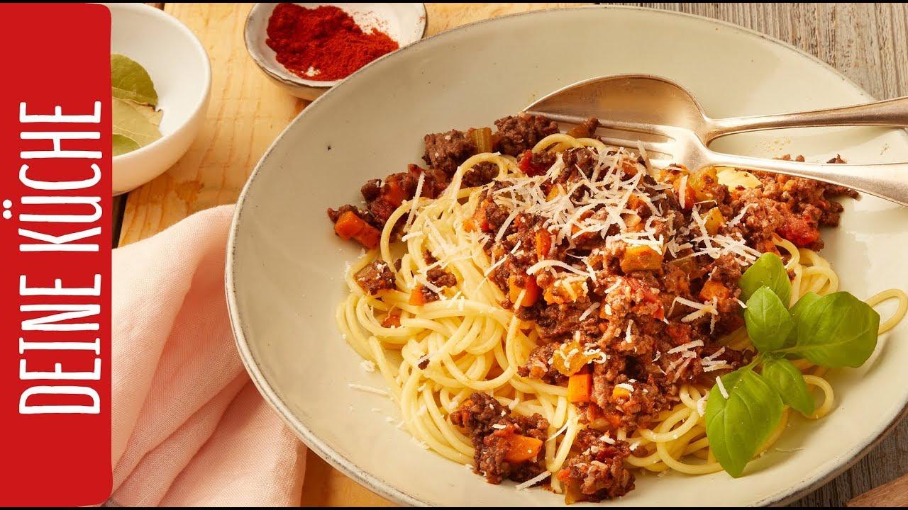 Spaghetti Bolognese | Italienisch genießen | REWE Deine Küche