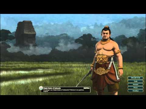 Civilization V OST | Gajah Mada Peace Theme | Udan Mas