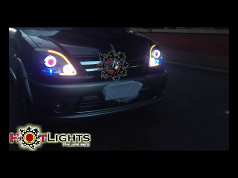 Mitsubishi Adventure AES HID Projector Lighting set up By HotLights Philippines
