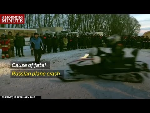 Cause of fatal Russian plane crash