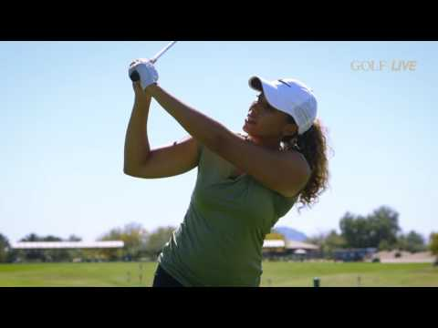Cheyenne's 3 keys for the perfect driver position at the top | GOLF.com