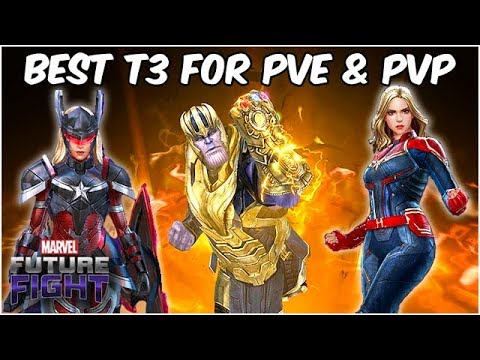 ALL 15 TIER 3 CHARACTERS RANKED! VALUE & PERFORMANCE! - Marvel Future Fight