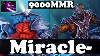 Dota 2 - Miracle- 9000 MMR Plays Sven WITH Silver Edge And Anti-Mage