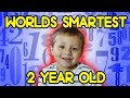 Gambar cover Worlds Smartest 2 Year Old SOLVING HARD MATH PROBLEMS with Cupcake Prize